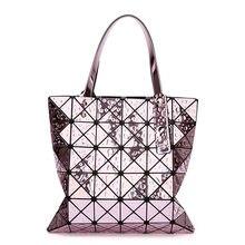 0186ceea3d Luxury Handbags Women Bags Designer Japan Styles Mirror Geometric Laser BAO Ladies  Shoulder Bag Female Purses