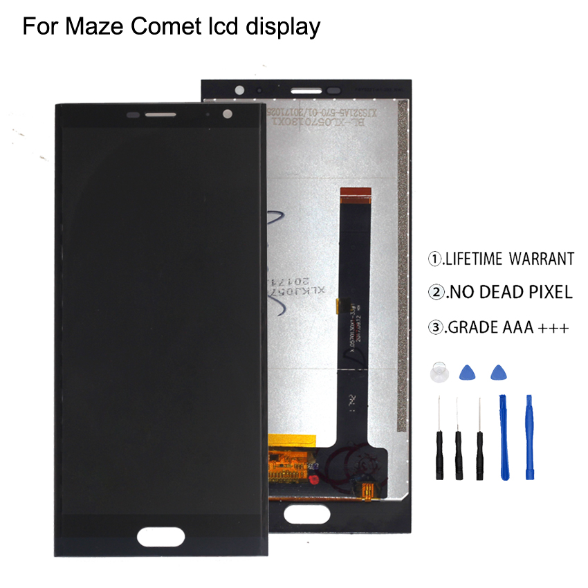 For Maze Comet LCD Display Touch Screen Digitizer Original Quality Phone Parts For Maze Comet Display