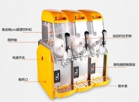 3 tank Margarita Slush Frozen Drink Machines Snow Melting Machine Price Ice Cream Machine Slush Maker