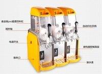 3 tank Margarita Matsch Eingefroren Getränkeautomaten Schneeschmelze Maschine Preis Eismaschine Slush Maker