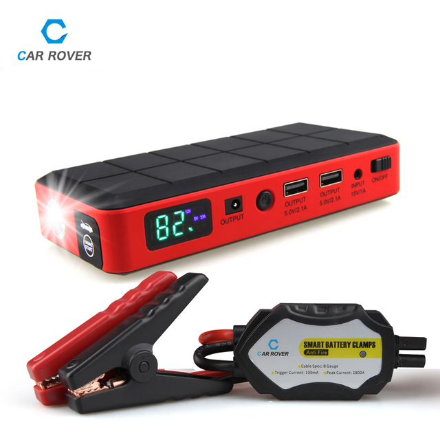 buy 26000 mah car jump starter power bank 12v emergency car battery booster. Black Bedroom Furniture Sets. Home Design Ideas