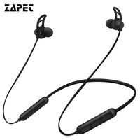 ZAPET Bluetooth Earphone Neckband Sports Wireless Headphones Bass IPX7 Waterproof Bluetooth Headset For Xiaomi IPhone IOS