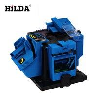 HILDA 3in1 Multifonction aiguiseur de travail pour ciseau HSS bits, ciseaux et couteaux aiguiseur broyage machine 96 W