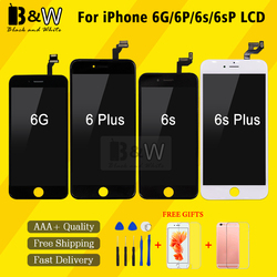 AAA+++  LCD Touch Screen Ecran For iPhone 6 6p 6s 6sp LCD Display Pantalla Digitizer Assembly Replacement with Free Gift