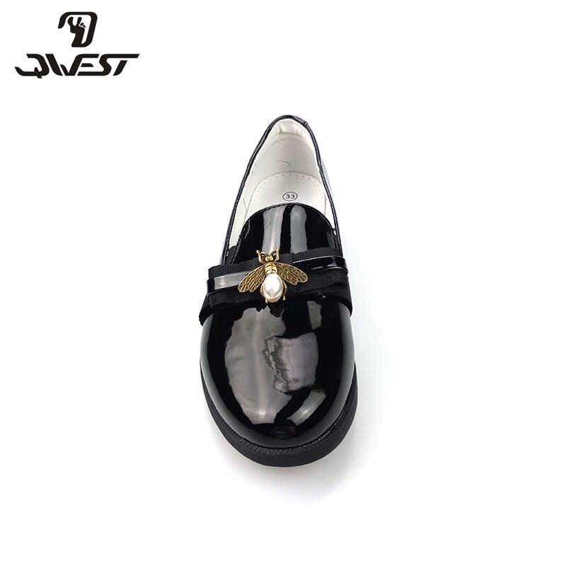 Flamingo escola sapatos tamanho 33-38 para meninas com palmilha de couro para crianças frete grátis 82t-jsd-0858/0859