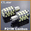 2 unids alta calidad ba15s p21w led 1156 48smd luz de giro Luz de marcha atrás de copia de seguridad DRL canbus coche luz led