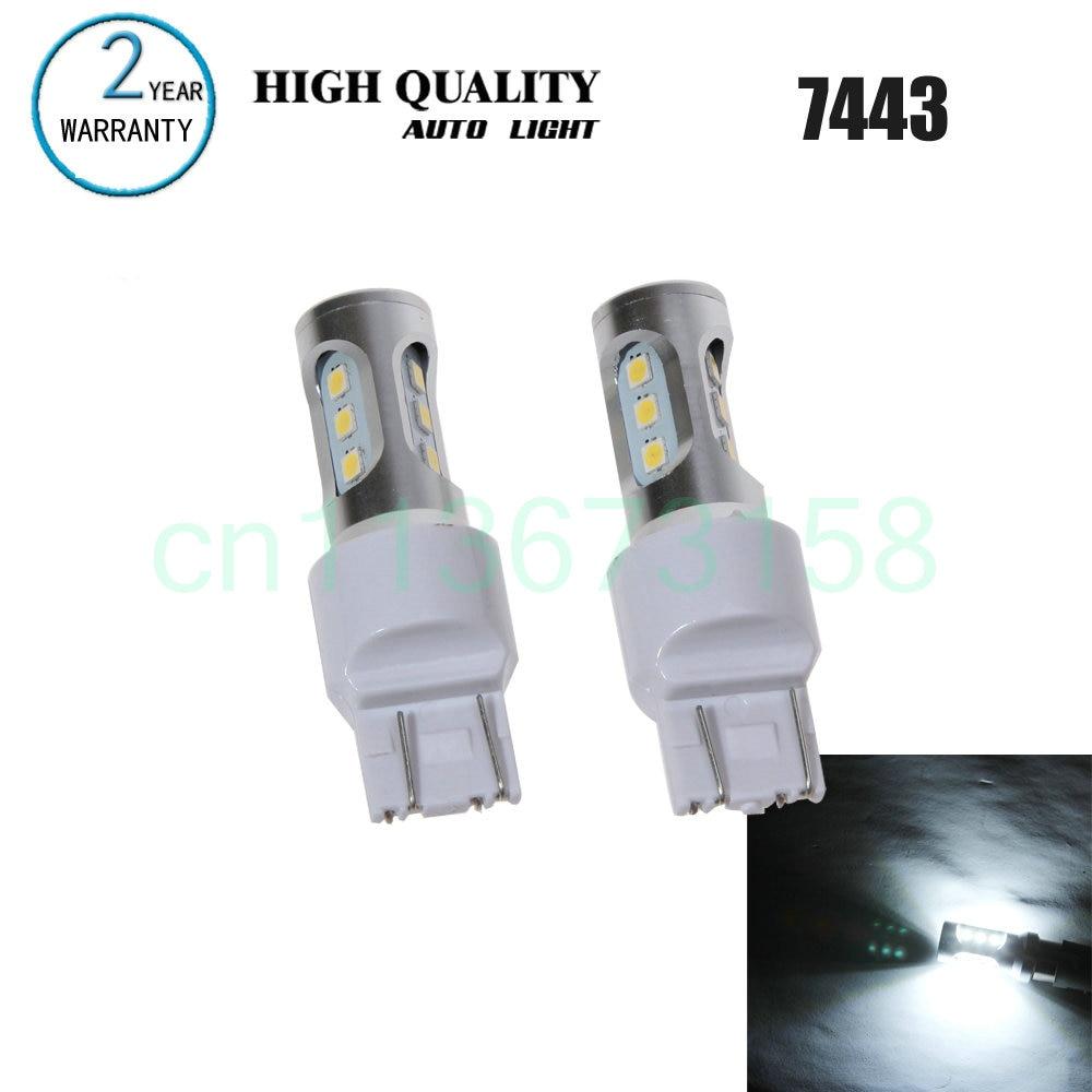 Free Shipping 2pc Lot Car Styling Led Lights Hi Q 7443