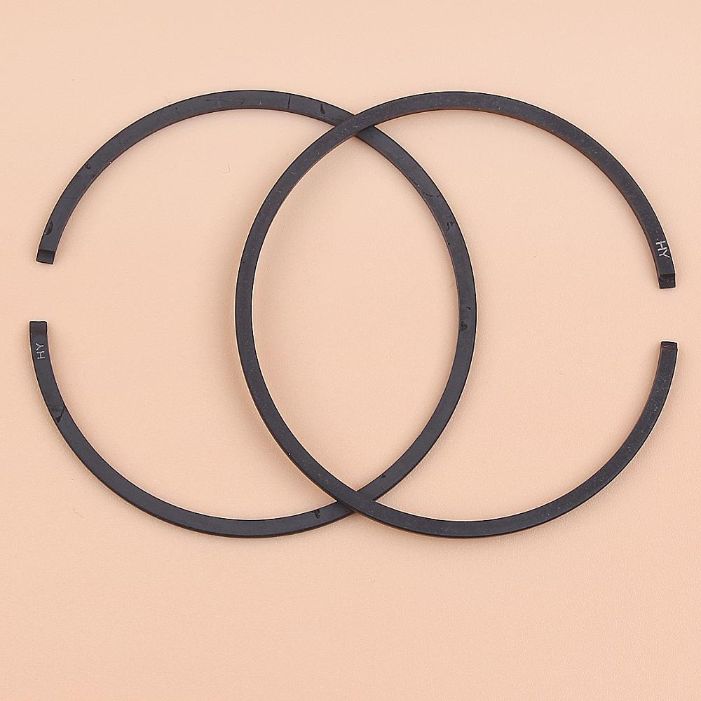 2pcs/lot 35mm X 1.2mm Piston Rings For Chainsaw Trimmer Brush Cutter Mower Replacement Spare Part