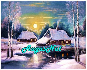 winter village diamond painting cottage dimond embroidery paint with diamonds picture oil paint by number cabin crystal poster image