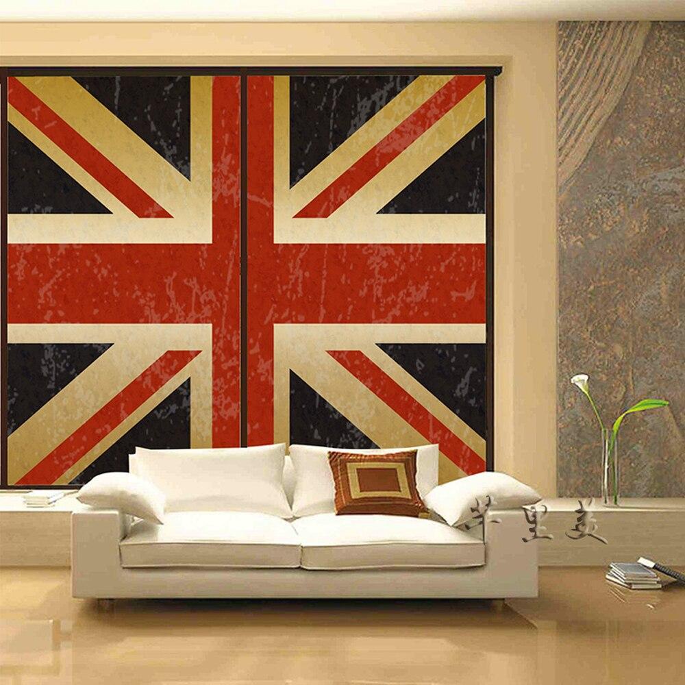 Modern British Furniture Dalrymple  yazi Custom Size British Flag Self  Adhesive Window Glass Film Wall Paper Sticker Mural Closet Sliding. Modern British Furniture   makitaserviciopanama com