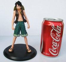 Anime One Piece Monkey.D.Luffy Portagas D Ace PVC Action Figure 2pcs/lot Toys Gifts