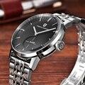 Мужские часы PAGANI  Дизайнерские повседневные кварцевые деловые часы из нержавеющей стали