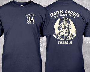 St-3A футболка с круглым вырезом и принтом темного ангела спецназа США Nswdg Devgru Seal Team 3, новинка 2019