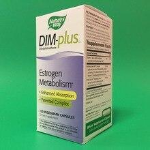 dim-plus метаболизм эстрогена Улучшенная абсорбция запатентованный комплекс 120 шт