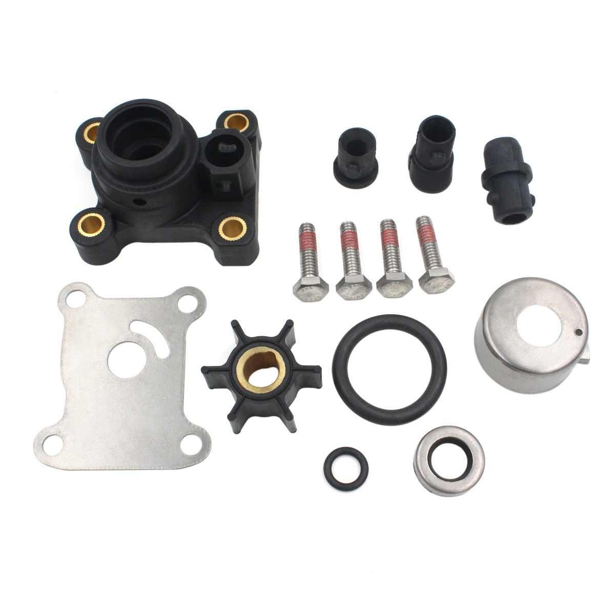 9 9hp 15hp impeller water pump repair kit for johnson evinrude 394711 0394711 391698 [ 1200 x 1200 Pixel ]