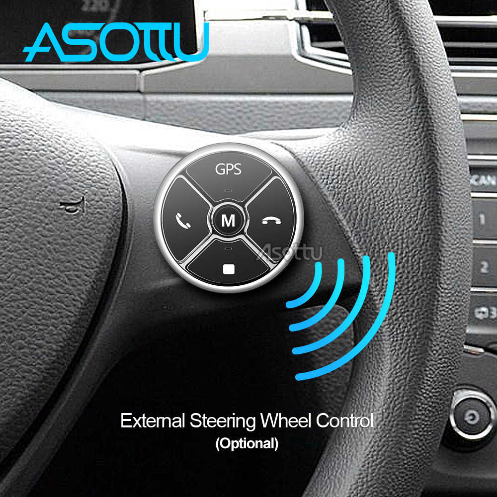 Asottu أندرويد 8.1 مشغل أسطوانات للسيارة لتحديد المواقع لاعب لشروليه S10 ايسوزو D-MAX 2015-2018 سيارة مشغل ديفيدي راديو مشغل فيديو الملاحة لتحديد المواقع