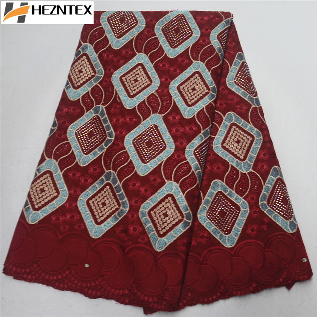 Nigerian Lace Fabrics 2019 African Swiss Voile Lace High Quality Swiss Voile Lace in Switzerland For Women Party Cloth PSA608-1