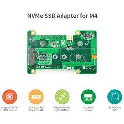 NanoPi M4 specjalny moduł rozszerzeń PCIe NVMe SSD  wysoka prędkość transmisji PCIex2