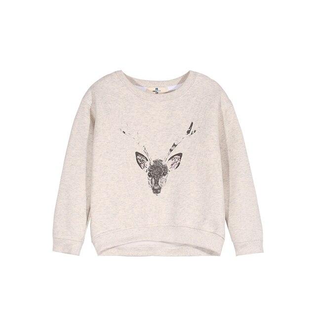 Lovely baby sweater cute cartoon animals children dress long sleeve shirt jacket crew neck shirt