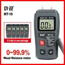 RZ портативный высокоточный деревянный гидрометр для измерения влажности цифровой электрический тестер измерительный инструмент MT10