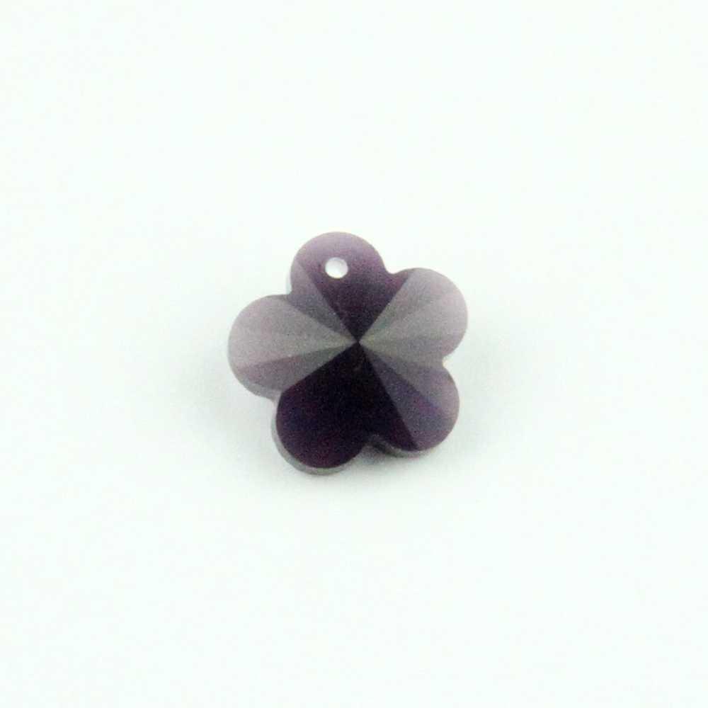 14 мм 1000 шт хрустальный Аметист цветок сливы бусины в 1 отверстие для украшения