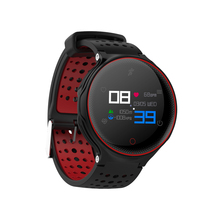 Купить с кэшбэком Hot sale Color Smart Watch Swim Wristband Heart Rate Monitor Activity Tracker Smartwatch Clock For APPLE/MOTO/Huawei PK Fenix 5