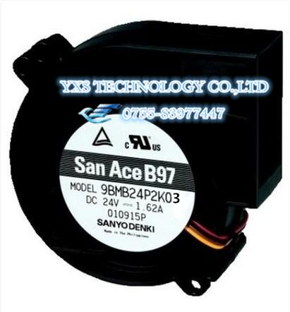 9BMB24P2K03 9733 24 V $ NUMBER A DC ventilador de refrigeración 97*94*33mm En stock ~