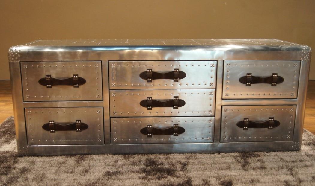 Vintage Furniture Fashion Metal Quality Space Aluminum Tv