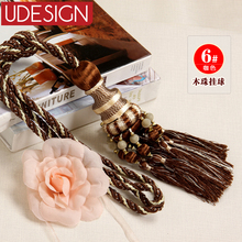 1 Pair 2 Ball Curtain Tassels High Quality European Tassels Luxury Curtains Tassel Tiebacks for Window Curtains