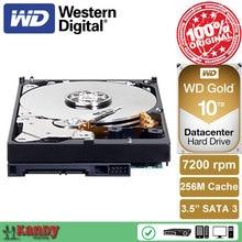 Western Digital WD Gold 10TB 10 T hdd sata 3.5 duro interno internal hard disk harddisk hard drive disque dur desktop hdd server