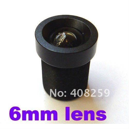 "6mm 53 Degree Angle IR Board CCTV Lens M12x0.5 for 1/3"" and 1/4"" CCD chipsets Camera Day Night"