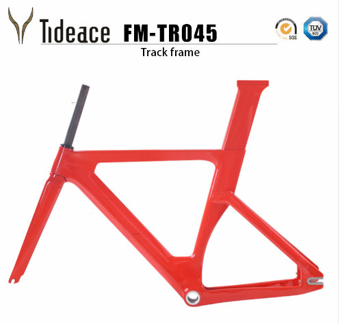 2018 Carbon Track Frame Carbon Fiber Fixed Gear Bike Frame Carbon Racing Tracking Bike Frameset 49/51/54cm With Fork Seatpost
