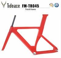 2018 Carbon Track Frame Carbon Fiber Fixed Gear bike frame Carbon Racing Tracking bike Frameset 49/51/54cm with fork seatpost
