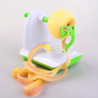 Praktische Handleiding Fruit apple Peeler Apple Slinky peeling machine + Rvs Shredders Slicer Cut de apple apparaat