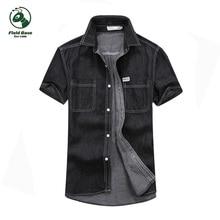 short sleeve shirt men jeans summer men s short shirts 2017 FB703