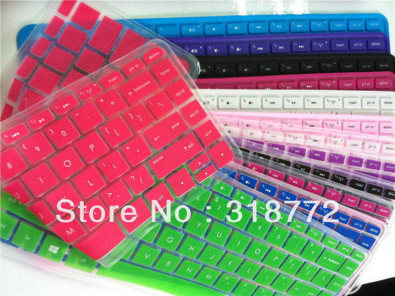 Backlit Color keyboard cover skin protective Film Sticker Protector for For HP Pavilion14 – e021/22/e034tx SPLIT X2 ENVY 14 P14
