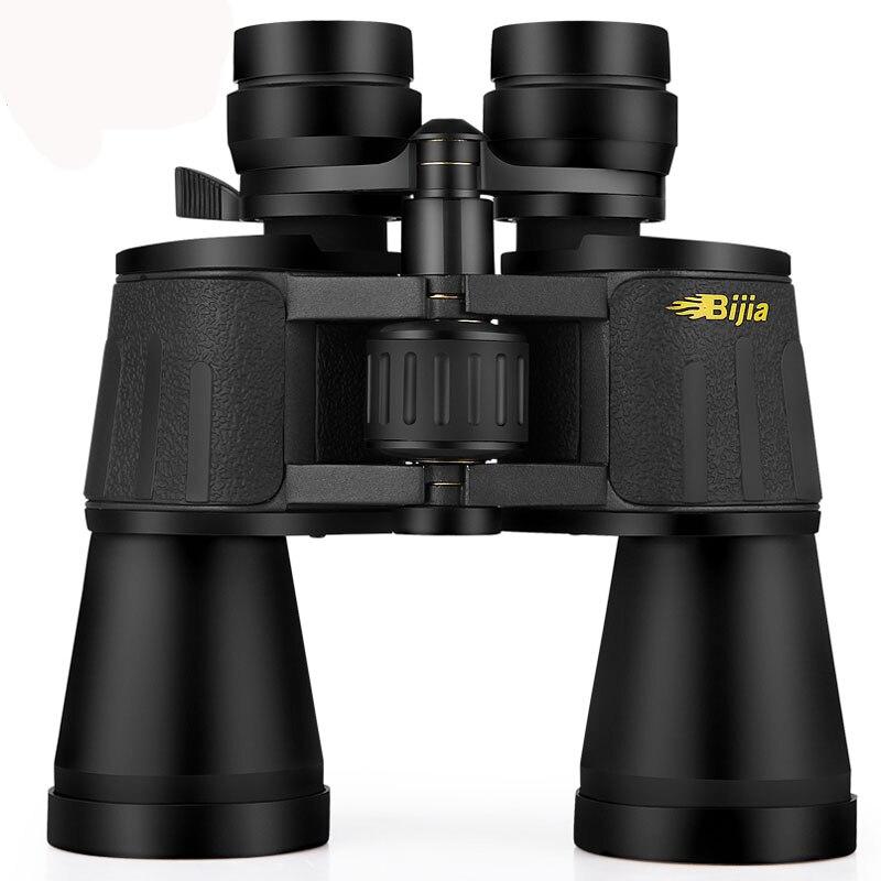 BIJIA Telescope Binoculars 10-120x80 Professional Zoom Optical Camping Waterproof For Hunting Telescope With Tripod Interface