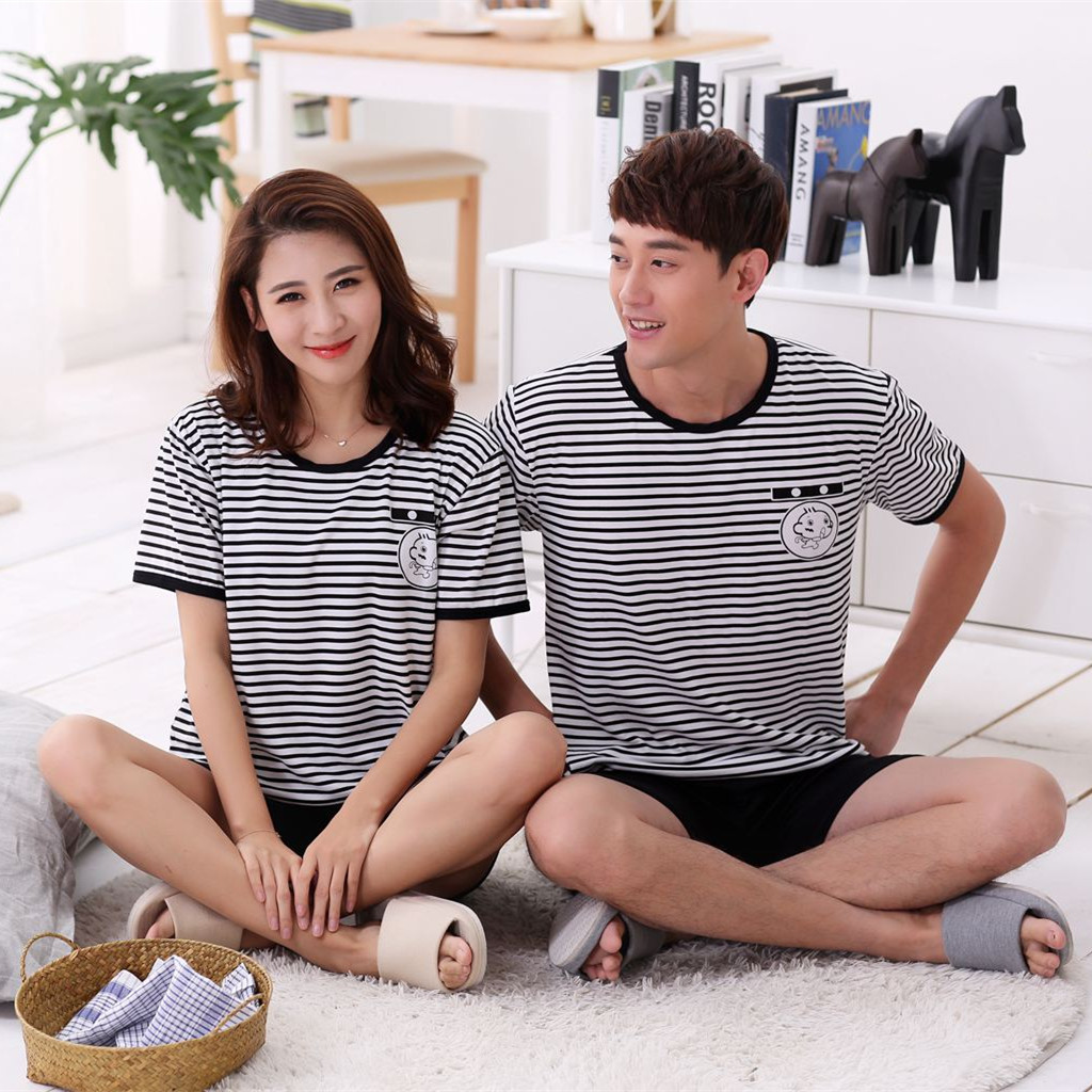 Summer Lovers Sleepwear Short Sleeve trousers Woman's ...