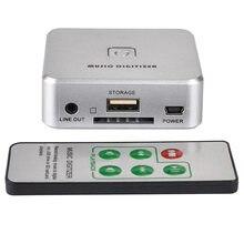 3,5 мм Музыкальный дигитайзер аналоговый музыки в MP3 аудио записывающее устройство конвертер Поддержка usb-накопитель SD карты ND998