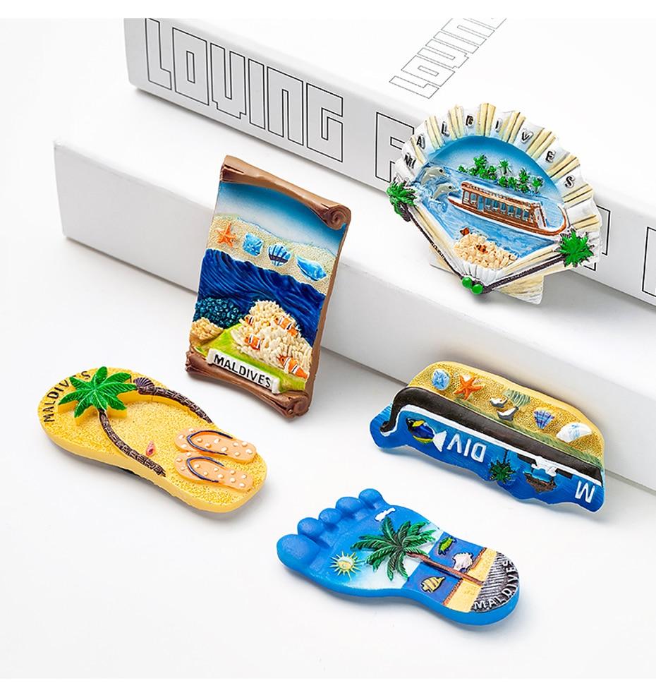 Seascape Ocean Fridge Magnet Souvenir 02