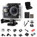 720 P Мини Спорт Камеры Действий Видео 30 М Водонепроницаемый Спорт DV Видеокамеры + Монопод + 2 шт. батарея + сумка + заряд + нагрудный гора + соперничество крепление