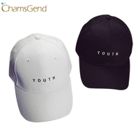 Chamsgend Embroidery YOUTH Letter Baseball Caps Women Men Casual Summer Hat Snapback 80315