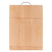 цена на 34x24CM Bamboo Cutting Board Kitchen Cutting Board Wood Cutting Board Kitchen Chopping Board FDA Approved Food Cutting Board