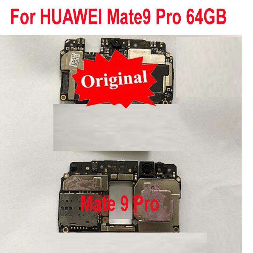 for HUAWEI Mate9 Pro 9-Pro 64GB Circuit-Board Fee Flex Cbale-Parts Tested Original title=