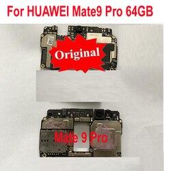 Oryginalne testowany pracy płyty głównej płyta główna dla HUAWEI Mate9 Pro Mate 9 Pro 64 GB płyta główna płytka drukowana opłata za Flex Cbale części