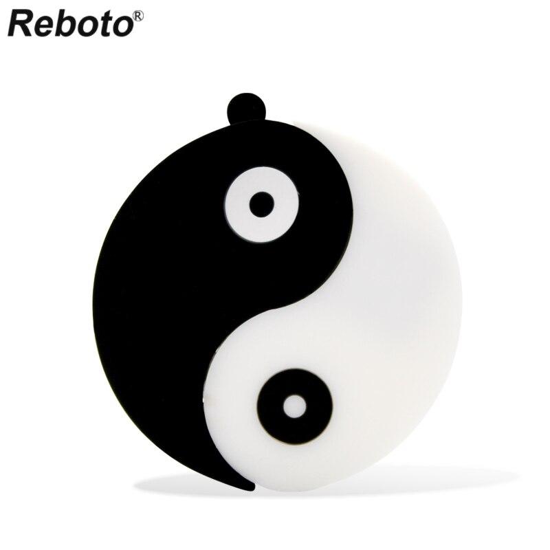 Reboto USB 2.0 Gossip USB Flash Drive Taiji Pen Drive 4GB 8GB 16GB 32GB 64GB Pendrive Memory Stick Yin-yang U Disk