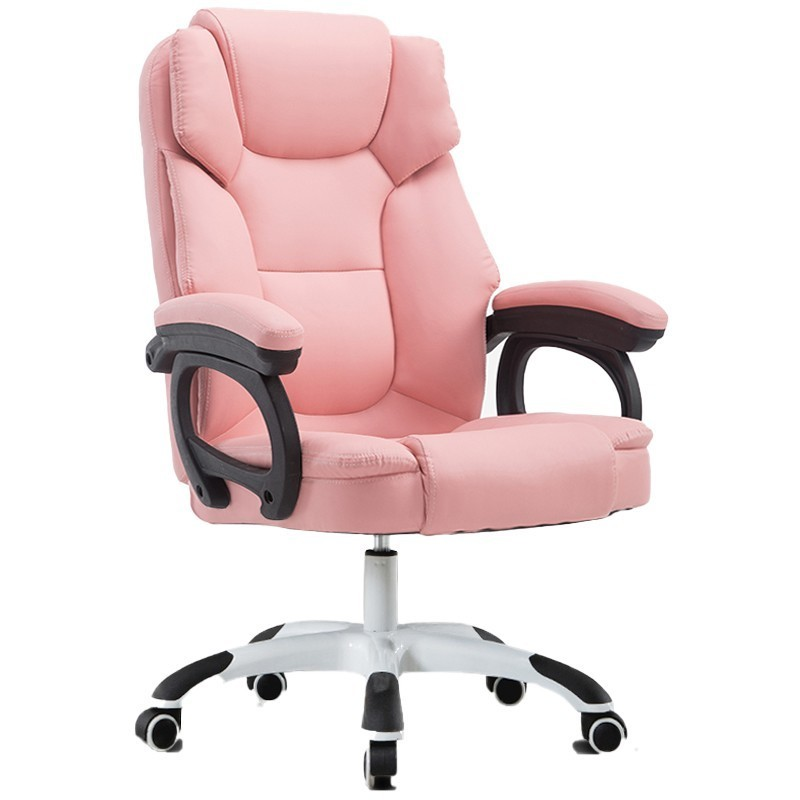 High Quality Gaming Live Silla Gamer Office Boss Pink Chair With Footrest Can Lie Ergonomics Synthetic Leather Office Furniture