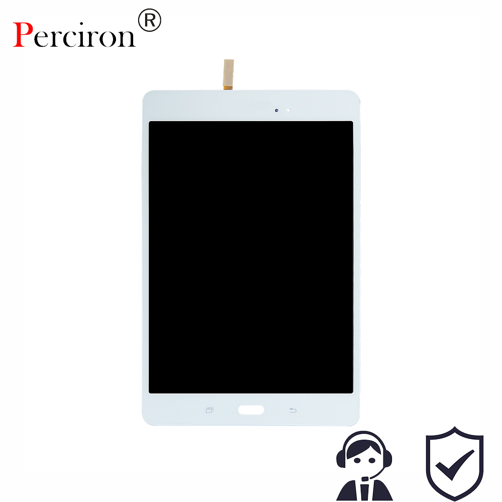 New 8 inch For Samsung Galaxy Tab A SM-T350 T350 T351 T355 LCD Display Matrix + Touch Screen Digitizer Full Assembly T 350 hh xw dazzle impact hybrid armor kickstand hard tpu pc back case for samsung galaxy tab a 8 0 inch p350 p355c t350 t355 sm t355