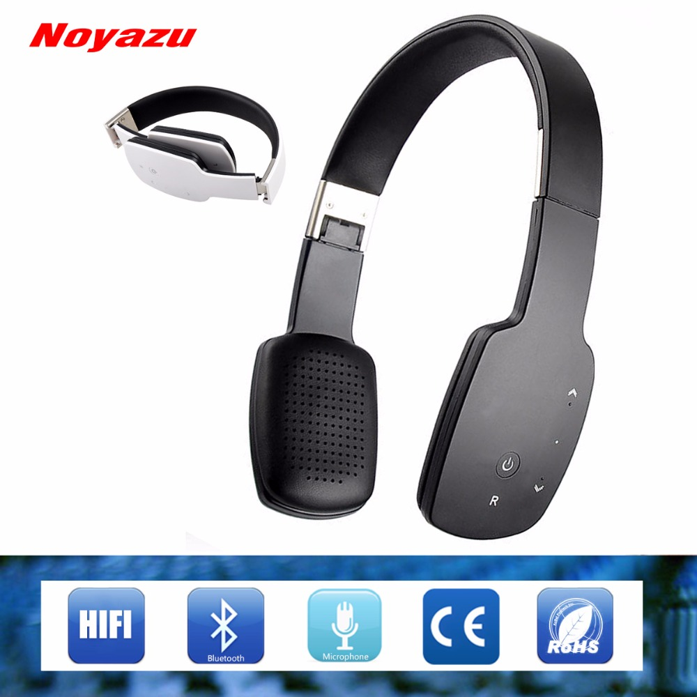 Noyazu LC-9600 Smart HIFI Wireless Bluetooth 4.1 Headphones / headset Stereo and Microphone for Music Wireless Headphone Gifts bluetooth earphone headphone for iphone samsung xiaomi fone de ouvido qkz qg8 bluetooth headset sport wireless hifi music stereo