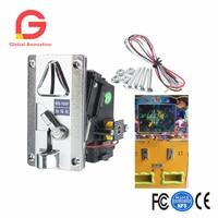 Plastic Elektronische Geavanceerde Front Entry CPU Multi Coin acceptanten, Vergelijking Muntstukselecteur Voor Automaten Arcade